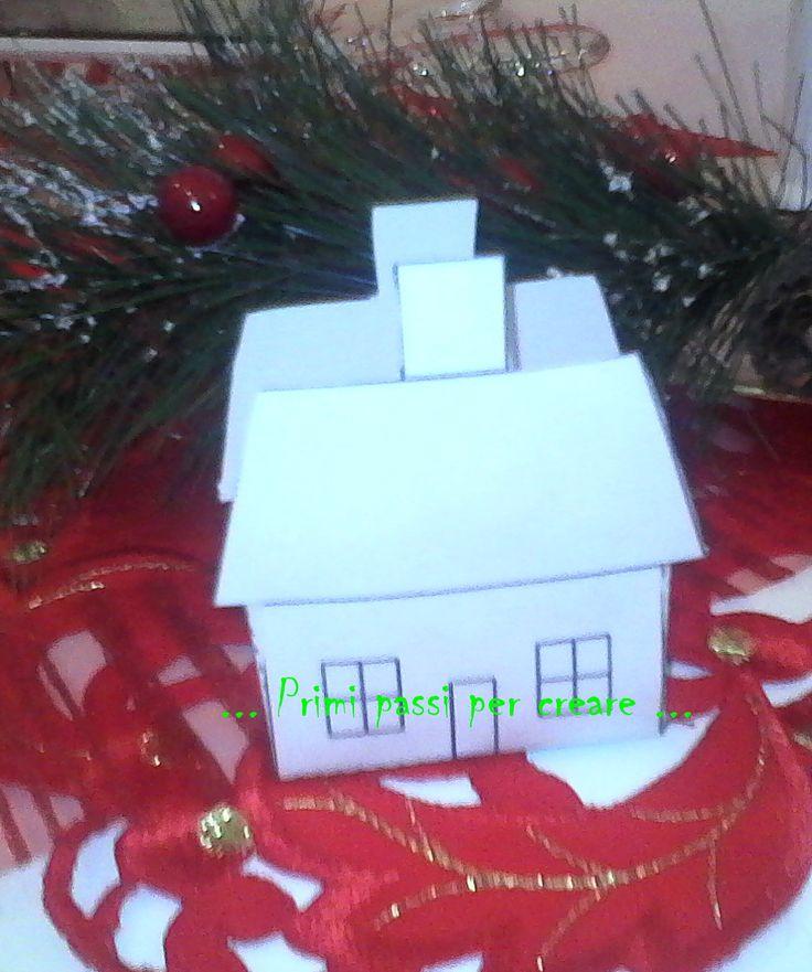 Come augurio per Santo Stefano,stasera posto la foto terminata di una casetta fai da te come segnaposto,utile per abbellire la tavola natalizia o anche per eventi importanti, che vi farò vedere al...