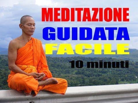 Meditazione Rilassante Guidata per trovare la tua pace interiore - YouTube