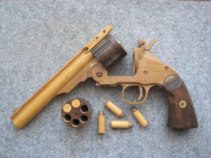REV◎LVER RUBBER BAND GUN 01.0 S&W M3 top break reload