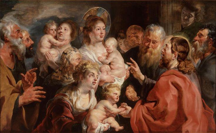 Αφήστε τα παιδιά να έλθουν προς εμένα (1615-16) Μουσείο Τέχνης Σαιντ Λούις στο Μιζούρι