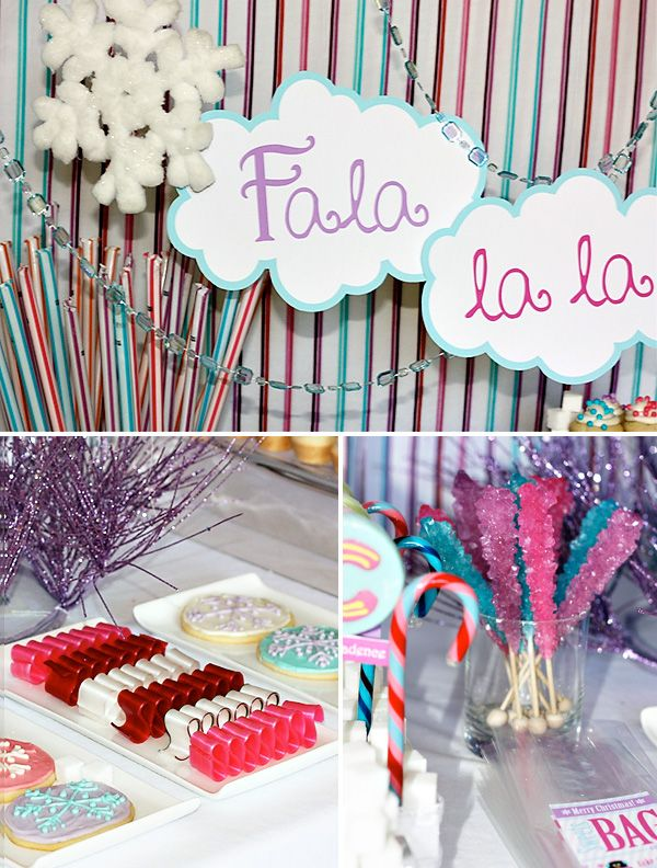 Fala La La Laaa Christmas Party Decor Ideas #lulusholiday