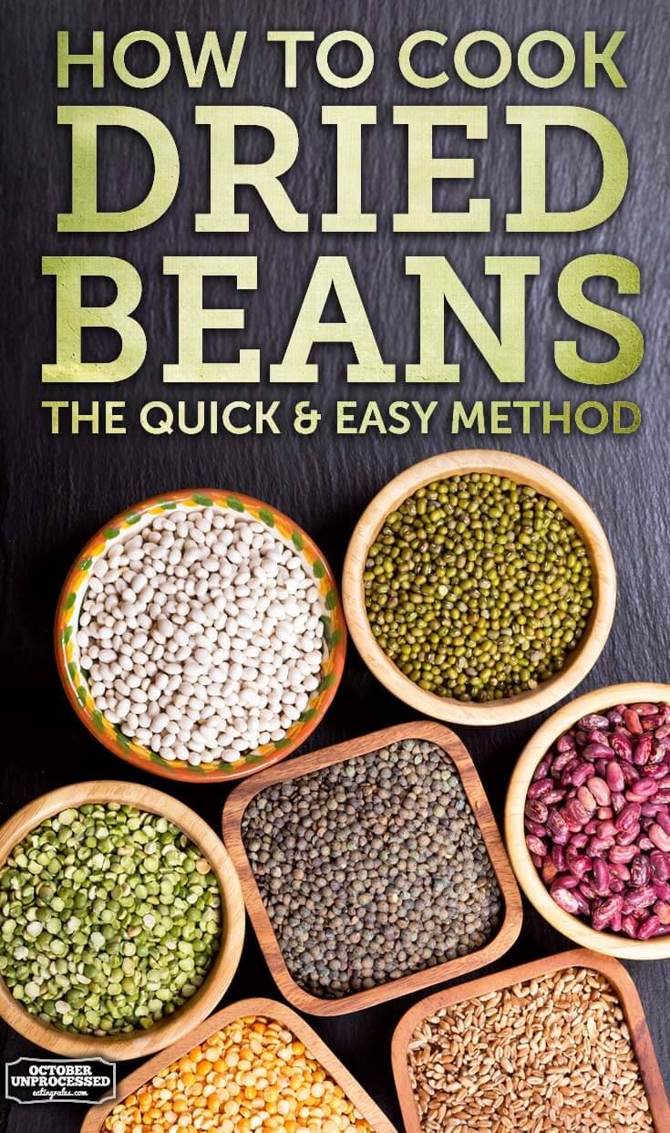 Making your own beans is the healthiest option - but it's time consuming, right? It doesn't have to be!