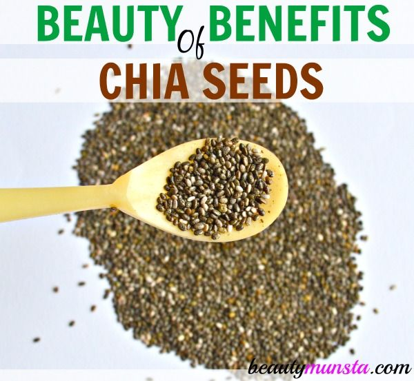 Wanna know the beauty benefits of chia seeds?! Find out here!
