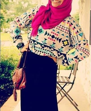patterns..long....baggy...pink...modern...hijab