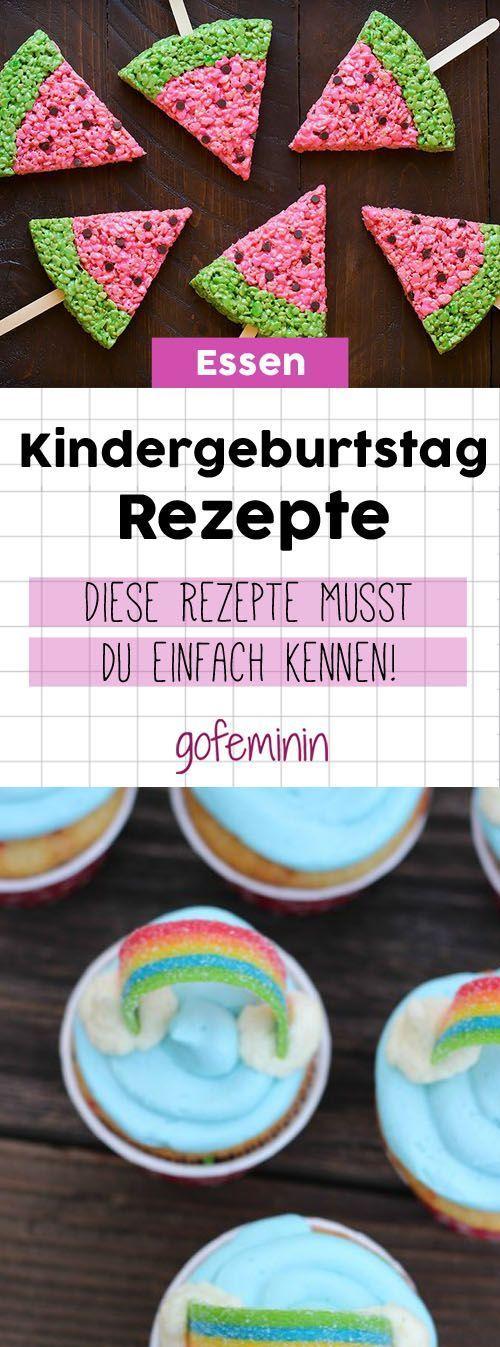 Geniale Kindergeburtstagsrezepte: Die Kinder werden dieses Essen lieben!   – Ideen für den Kindergeburtstag: Einladung, Deko, Spiele und Co