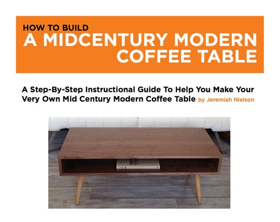 Mid Century Modern Coffee Table Download door jeremiahcollection