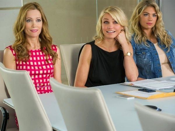 The Other Woman 2014 movie review: Cameron Diaz, Leslie Mann, Kate Upton. Review by YES/NO FILMS, April 2014.