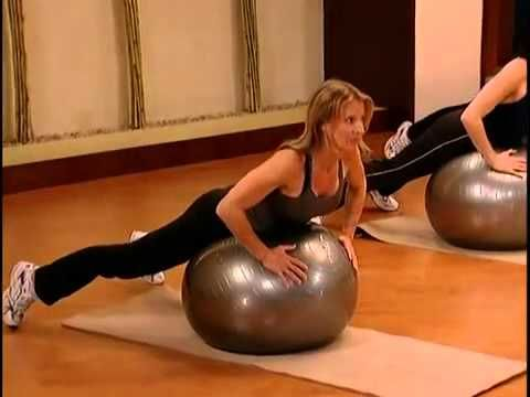 Pilates Topu İle Evde Egzersiz - YouTube