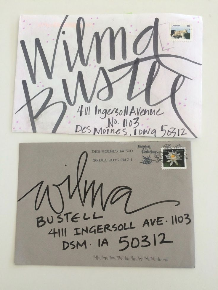 Yesterday I thought I had the last two. Then I noticed these two. Maybe I will be uber organized in 2017.  HA!   The top envelope is from ...