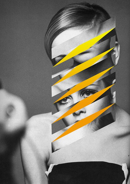 themaxdavis twiggy collage