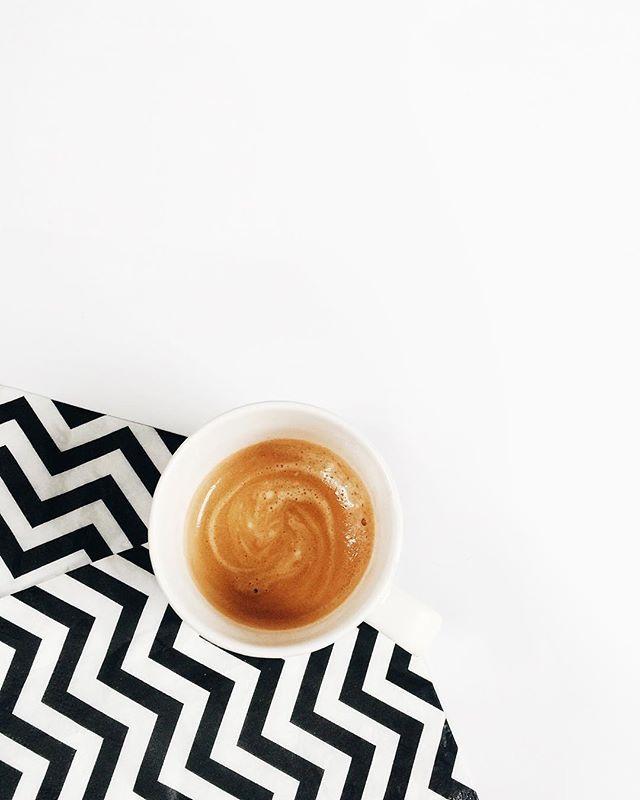 Coffee & pattern. #butfirstcoffee #airbnb