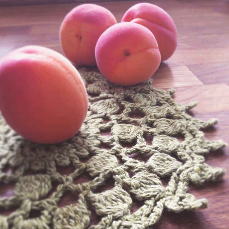 Apricot Morning | Crochet Doily by My Beloved Craft | www.mybelovedcraft.com