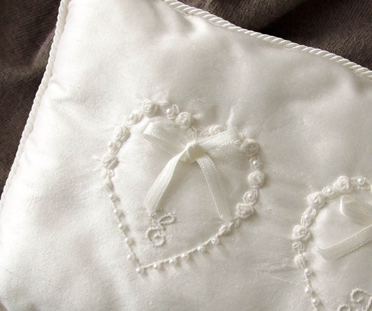 Ideas about wedding pillows on pinterest ring