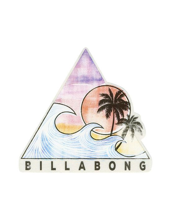BILLABONG Vibe With The Tide Sticker