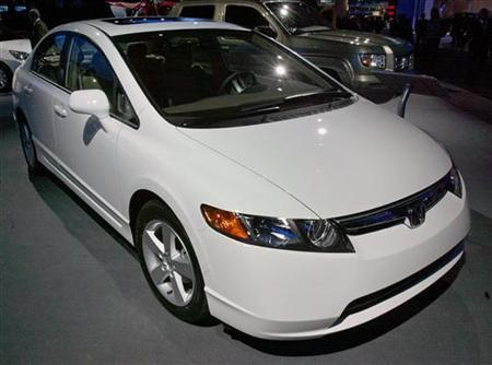 Honda says it will recall about 50,000 Civic small cars in the United States from the 2012 model year for a potential driveshaft assembly issue that could lead to loss of engine power. (via Reuters)