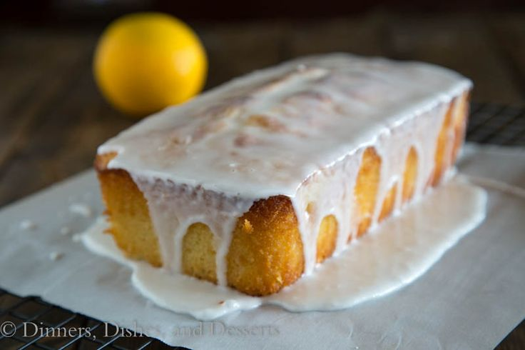 Grapefruit Yogurt Cake w/ a Grapefruit Glaze from Dinners, Dishes, and ...