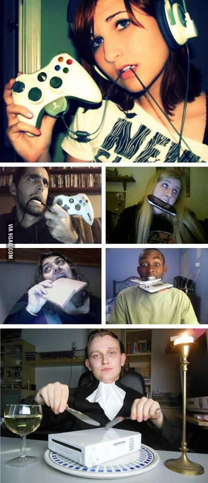 Gamer girl problems