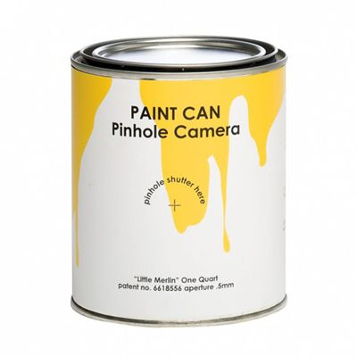 Paint Can Pin Hole Camera Photography For Kids Camera Obscura Photography And Creativity Pinhole Camera Paint Cans Pinhole Photography