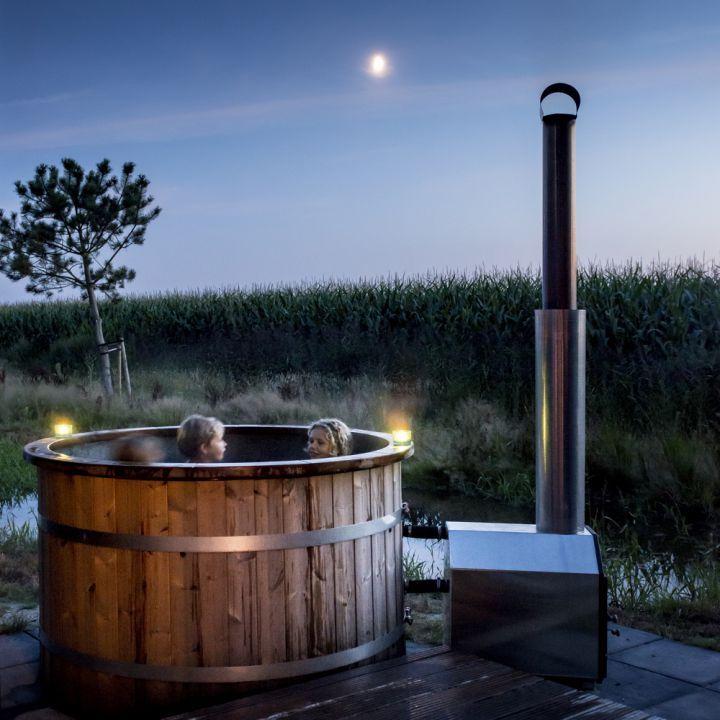 Natuurlodge met hot tub