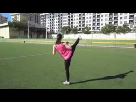 *蹴り技22種類* - YouTube