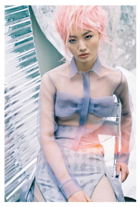 """""""Edge of Heaven,"""" featuring Samantha Xu, photographed by Felix Cooper for Used (Spring/Summer 2013)"""