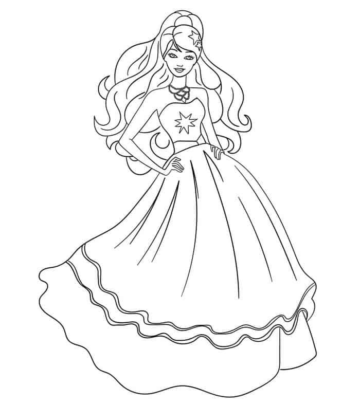 My Scene Barbie Coloring Pages Barbie Coloring Pages Barbie Drawing Coloring Pages For Girls