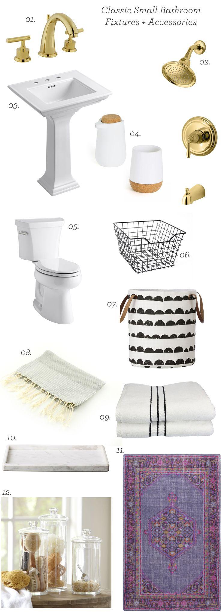 Bathroom Fixtures For Small Bathrooms best 25+ classic small bathrooms ideas on pinterest | small grey