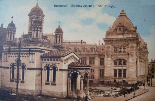 Turist în București: Biserica Zlătari - Calea Victoriei
