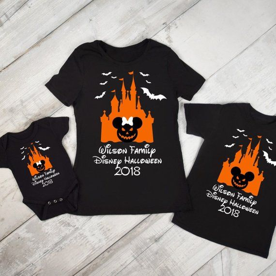 Disney Halloween Shirts Family Vacation 2019 Glow in the