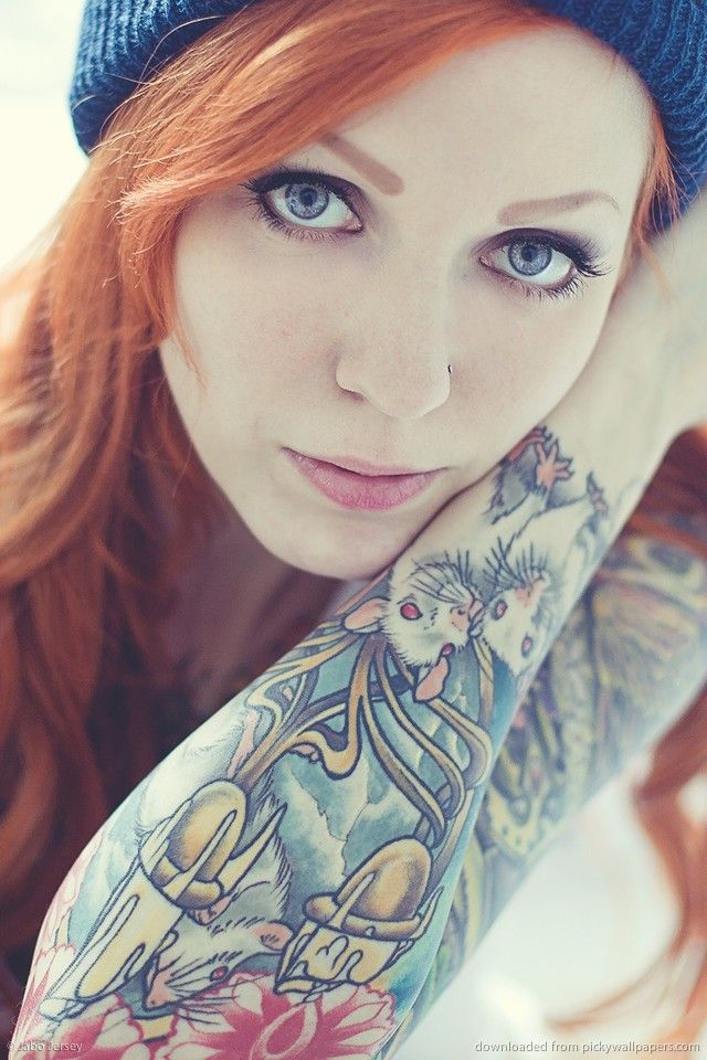 """Kat Von D images \""""Inked\"""" magazine HD wallpaper and background"""
