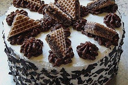 Hanuta - Torte (Rezept mit Bild) von alina1st | Chefkoch.de