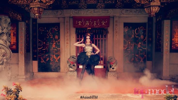 MONKEY - Chinese Zodiac Photoshoot, Asia's Next Top Model
