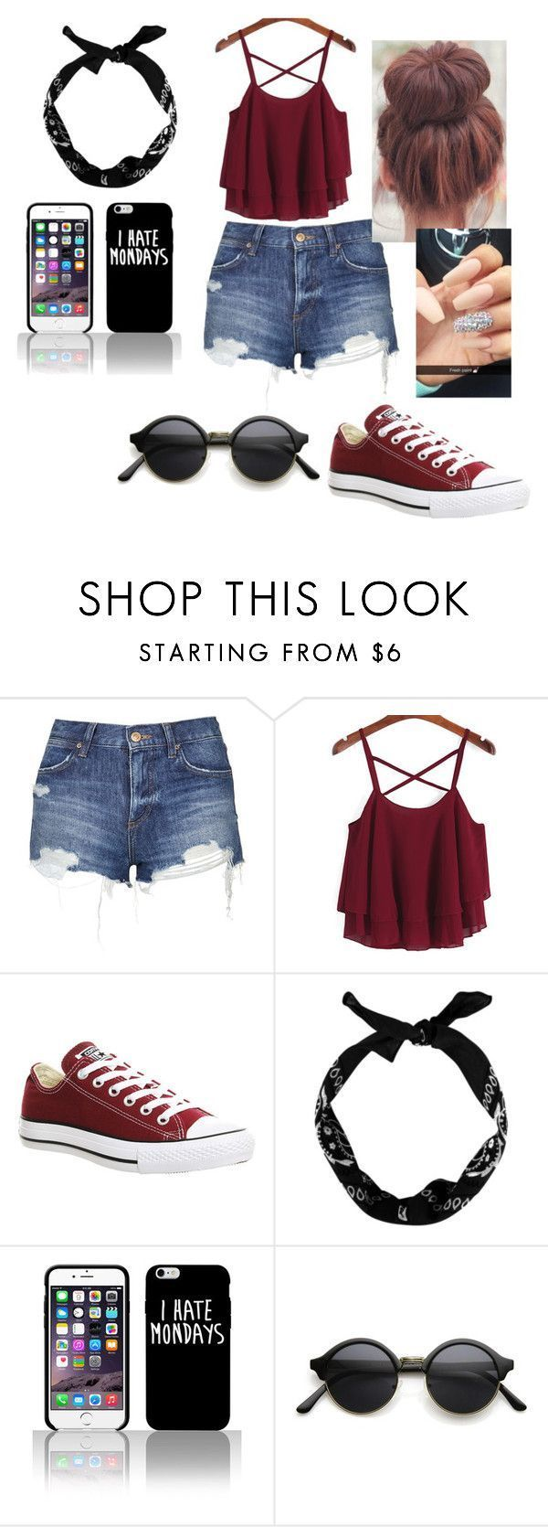 """""""the look"""" by indiasims on Polyvore featuring Topshop, Converse, women's clothing, women's fashion, women, female, woman, misses and juniors"""
