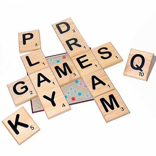 Great Big Wooden Letter Tiles : Giant Wooden Letter Tiles from GreatBigStuff.com