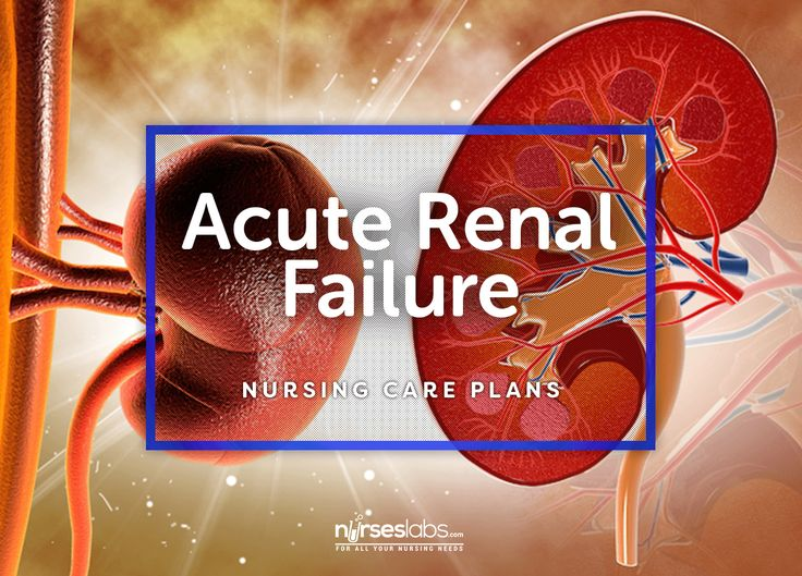 6 Acute Renal Failure Nursing Care Plans