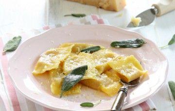 Tortelli di zucca senza amaretti ne mostarda