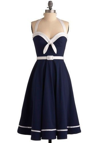 Sailing into the Sunset Dress size Small. Please note that mine is the irregular version and does not have the front ties. Limited #50