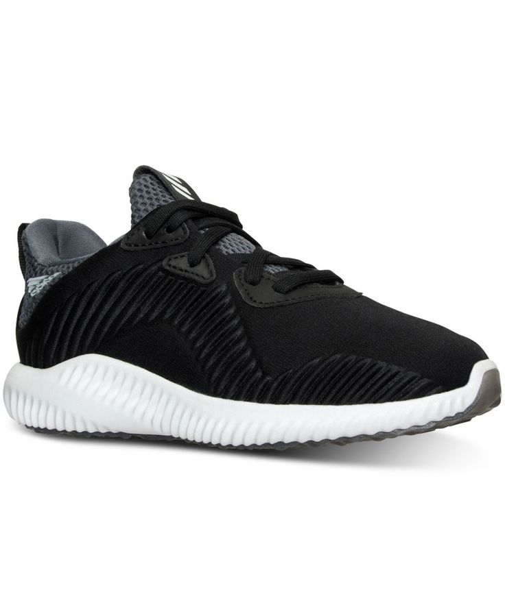 adidas Little Boys' Alpha Bounce Running Sneakers from Finish Line