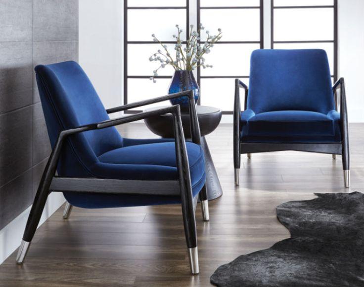 Modern Chairs: 5 Velvet Armchair Designs Trending Next Season