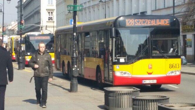Autobus miejski w Warszawie #autobus #polskabybus