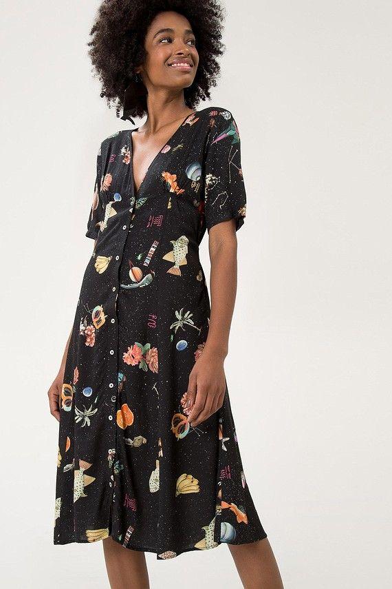 vestido cropped mini mundo
