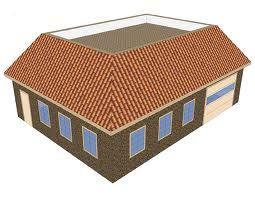 A Mansard Roof Is Roughly A Hybrid Of A Flat Roof And A