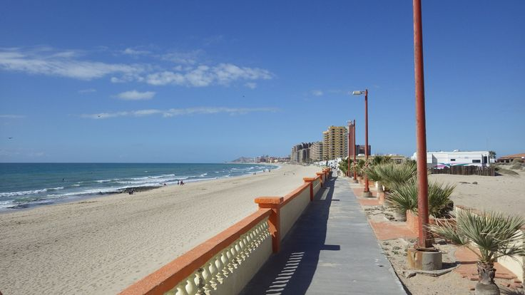 Mexico Travel Features A Sandy Beach in Puerto Penasco Mexico - See more @gr8traveltips