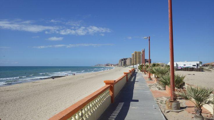 Sandy Beach in Puerto Penasco Mexico