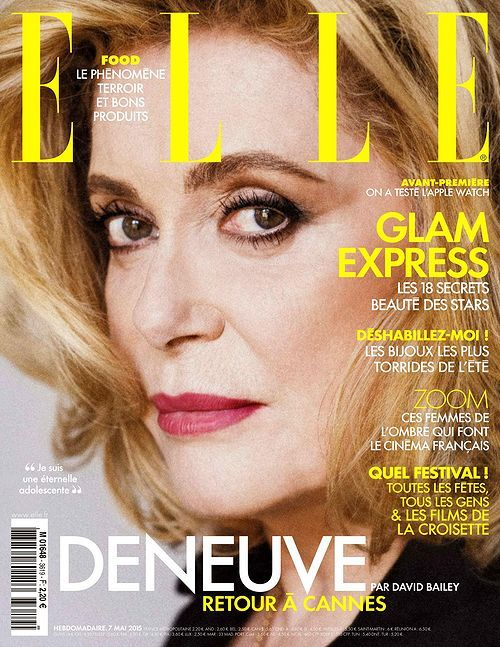 Catherine Deneuve (2015.05.07. Elle)