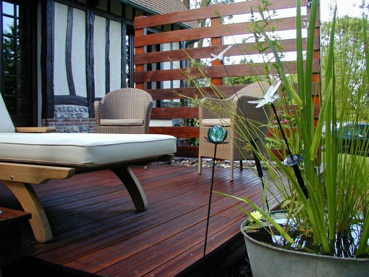 30 best images about terrasses en bois on pinterest for Belle terrasse en bois