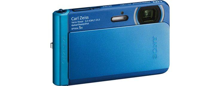 Afbeeldingen van TX30 waterdichte camera met 5x optische zoom