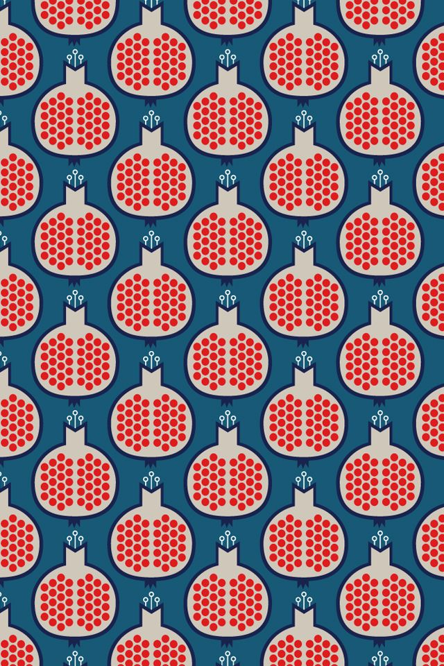 Pomegranate wallpaper by Komraids