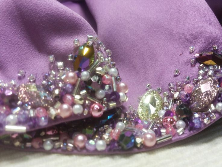 My beading Finished in 20 hours. Rushing....