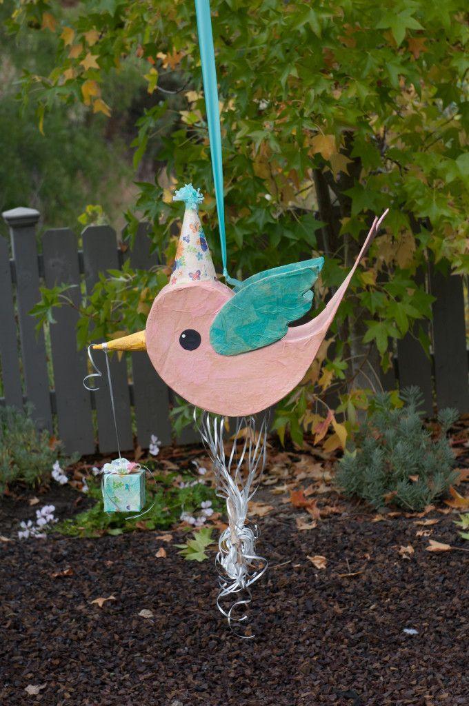 Project Nursery - Birthday Party Messenger Bird Pinata